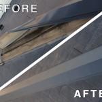 【屋根修理】スレート屋根塗装前にやっておきたい「棟板金の交換」