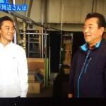 テレビ朝日「若大将のゆうゆう散歩」 加山雄三さんが来社されました