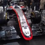 マクラーレン・ホンダ 2015年型F1マシン MP4-30一般公開