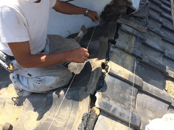 【屋根修理】実は知らない人が多い?!日本瓦(和型)の正しい修理方法