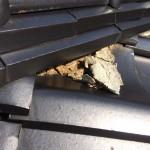 屋根瓦の漆喰、自分で補修できる? できない?