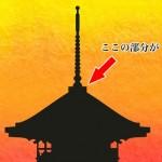 「露盤 ろばん」難しい屋根の専門用語をやさしく解説。今日の屋根用語!第15日目