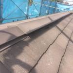 スレート系屋根(コロニアル)棟板金取替えだけで葺き替えまでは必要ありません。