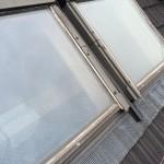 【雨漏り修理】隣り合ったトップライト(天窓)の繋ぎ目からの雨漏り屋根修理