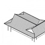 「撞木造り しゅもくづくり」難しい屋根の専門用語をやさしく解説。今日の屋根用語!第52日目