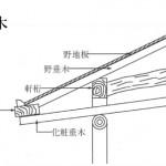 「垂木 たるき」難しい屋根の専門用語をやさしく解説。今日の屋根用語!第56日目