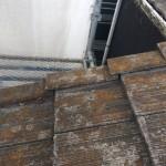 モニエル瓦ホームステッド(廃盤品)の雨漏り修理【屋根点検編】