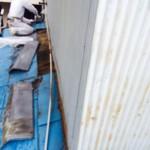 ボロボロ金属屋根の葺き替え工事 続