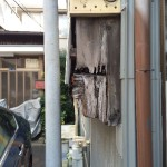 ボロボロ金属屋根の葺き替え工事