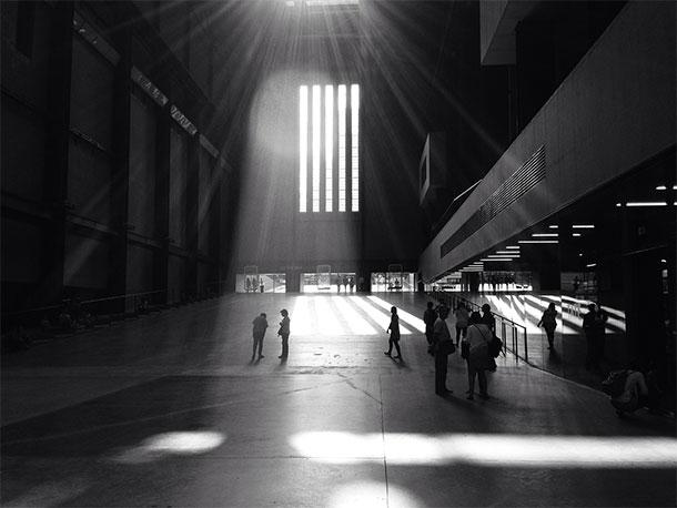 光の空間演出1