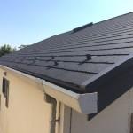 【リフォーム】屋根葺き替え工事 パミールからコロニアルグラッサへ