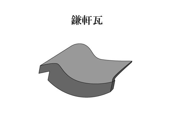 「鎌軒瓦 かまのきがわら」難しい屋根の専門用語をやさしく解説。今日の屋根用語!第120日目