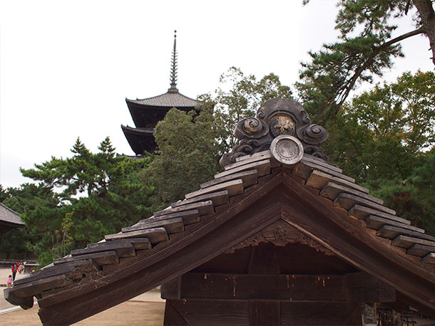 社寺、五重塔1