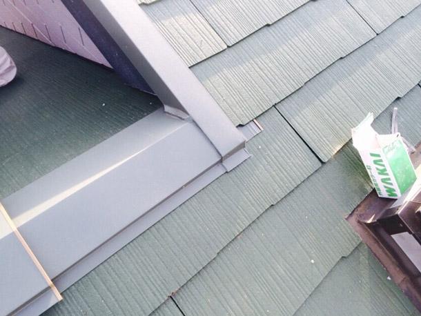 緑屋根施工3