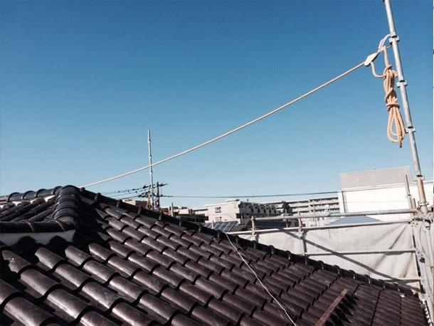 屋根工事中間検査2