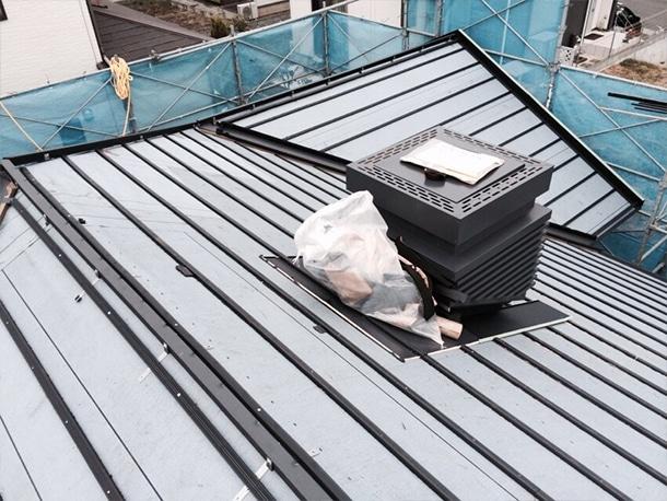 平板瓦の屋根工事2