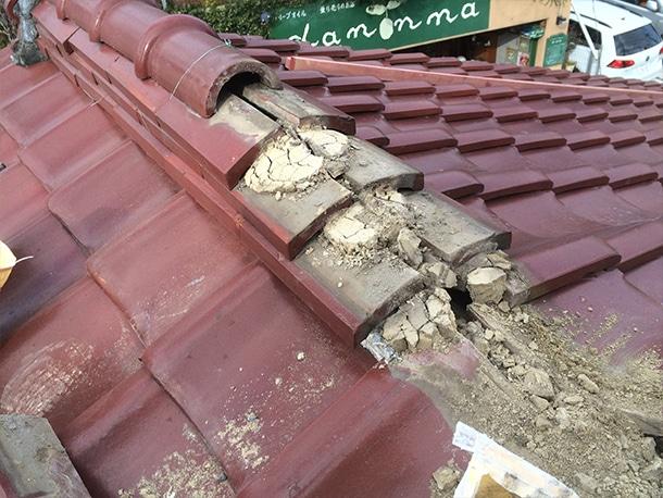 瓦屋根の修理・リフォーム工事2