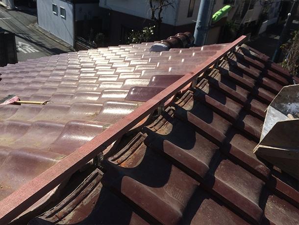 瓦屋根の修理・リフォーム工事5