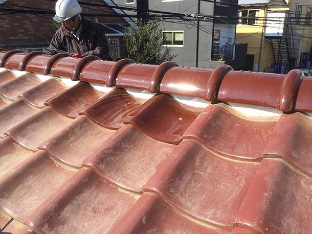 瓦屋根の修理・リフォーム工事6