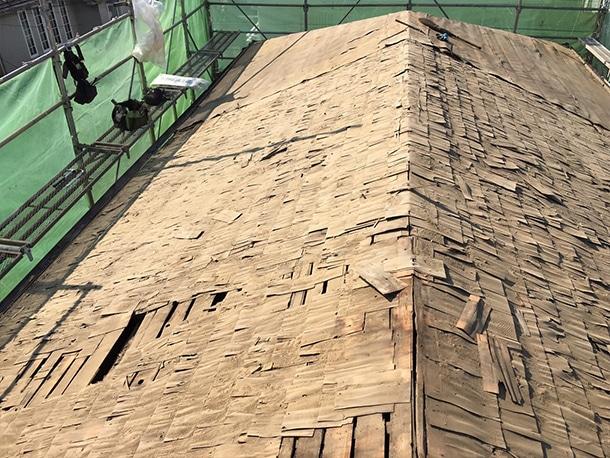 東京都杉並区、日本瓦から日本瓦への葺き替え4