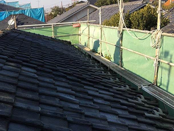 東京都杉並区、日本瓦から日本瓦への葺き替え2