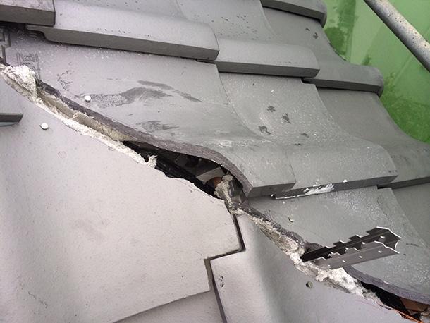 東京都杉並区、日本瓦から日本瓦への耐震屋根リフォームで葺き替え工事18