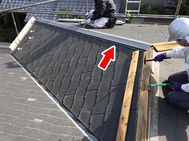 さいたま市桜区、スレート屋根の葺き替え工事2