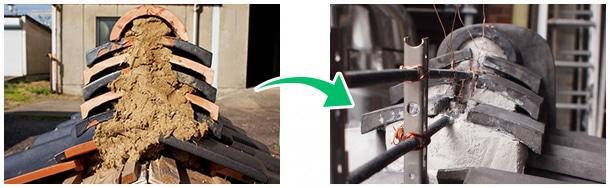 瓦屋根の耐震化工事ベスト3−1