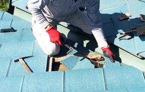 瓦や屋根材の割れ修理【約1.5時間】
