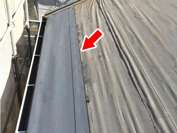 Q. ひび割れたスレート屋根材「グリシェイドNEO」を差し替えた後の防水ってどうなってるの?