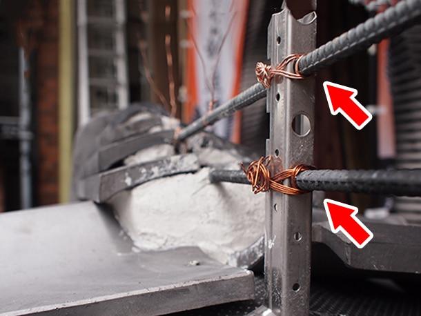 鉄筋、鉄筋工法、瓦屋根設計施工ガイドライン工法4