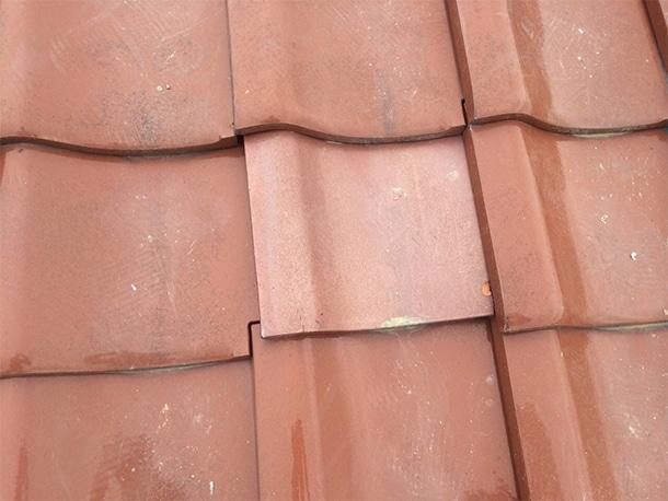東京都杉並区、和型の釉薬瓦の屋根、棟の取り直し、棟瓦の耐震化6