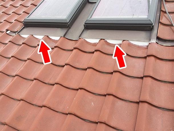 東京都杉並区、和型の釉薬瓦の屋根、棟の取り直し、棟瓦の耐震化8