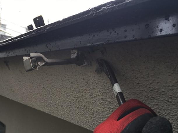 横浜市港北区,屋根雨どいのリフォーム,セキスイX70,セキスイ・アートフェイスT120,交換工事1