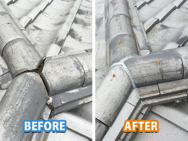 【瓦屋根】震災に威力を発揮。日本瓦の棟を地震に強くする耐震工事