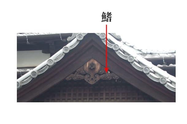 「鰭 ひれ」難しい屋根の専門用語をやさしく解説。今日の屋根用語!第240日目