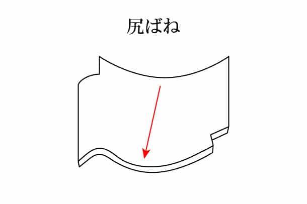 「尻ばね しりばね」難しい屋根の専門用語をやさしく解説。今日の屋根用語!第254日目