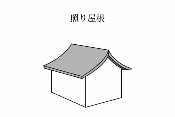 「照り屋根 てりやね」難しい屋根の専門用語をやさしく解説。今日の屋根用語!第239日目