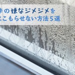 湿気とカビがウザい!家に湿気をこもらせない雨季のイライラ防止策5選【結露防止】