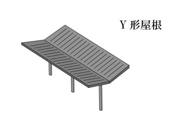 「Y形屋根 わいがたやね」難しい屋根の専門用語をやさしく解説。今日の屋根用語!第284日目