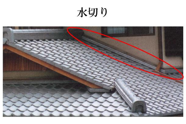 「水切り みずきり」難しい屋根の専門用語をやさしく解説。今日の屋根用語!第303日目