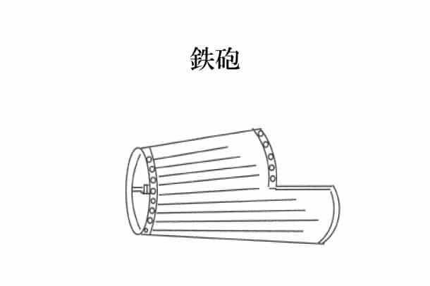 「鉄砲 てっぽう」難しい屋根の専門用語をやさしく解説。今日の屋根用語!第335日目