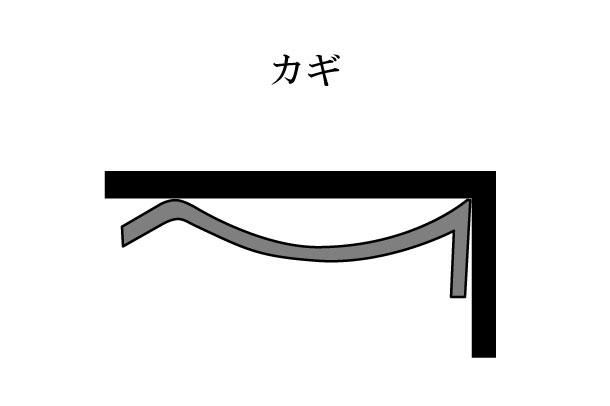 「カギ かぎ」難しい屋根の専門用語をやさしく解説。今日の屋根用語!第294日目