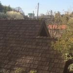 Q. 木の板が使われている屋根って、何の木が使われているんですか?