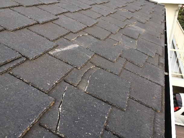 Q. アーバニーって屋根材が割れて落ちてきました。危ないの割れたのだけ修理ってできますか?