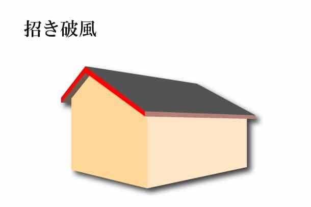 「招き破風 まねきはふ」難しい屋根の専門用語をやさしく解説。今日の屋根用語!第386日目