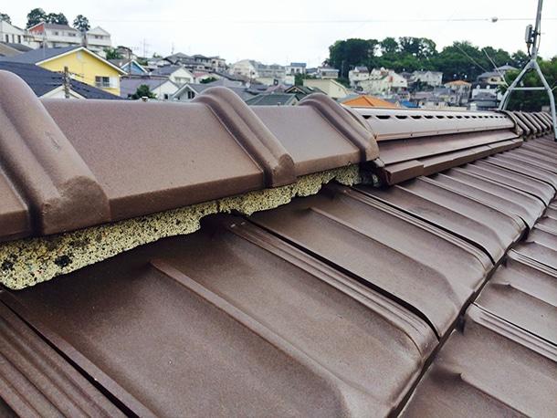 Q. 屋根屋さんが使っている「シルガード」ってなんですか?漆喰か何かでしょうか?