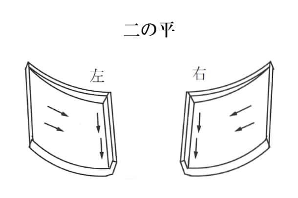 「二の平 にのひら」難しい屋根の専門用語をやさしく解説。今日の屋根用語!第400日目