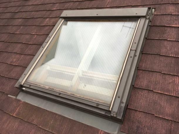 【ベルックス】天窓の寿命は約30年。雨漏りする天窓を最新ブラインド付天窓に交換しました【メンテナンス】