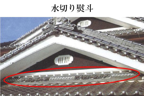 「水切り熨斗 みずきりのし」難しい屋根の専門用語をやさしく解説。今日の屋根用語!第444日目